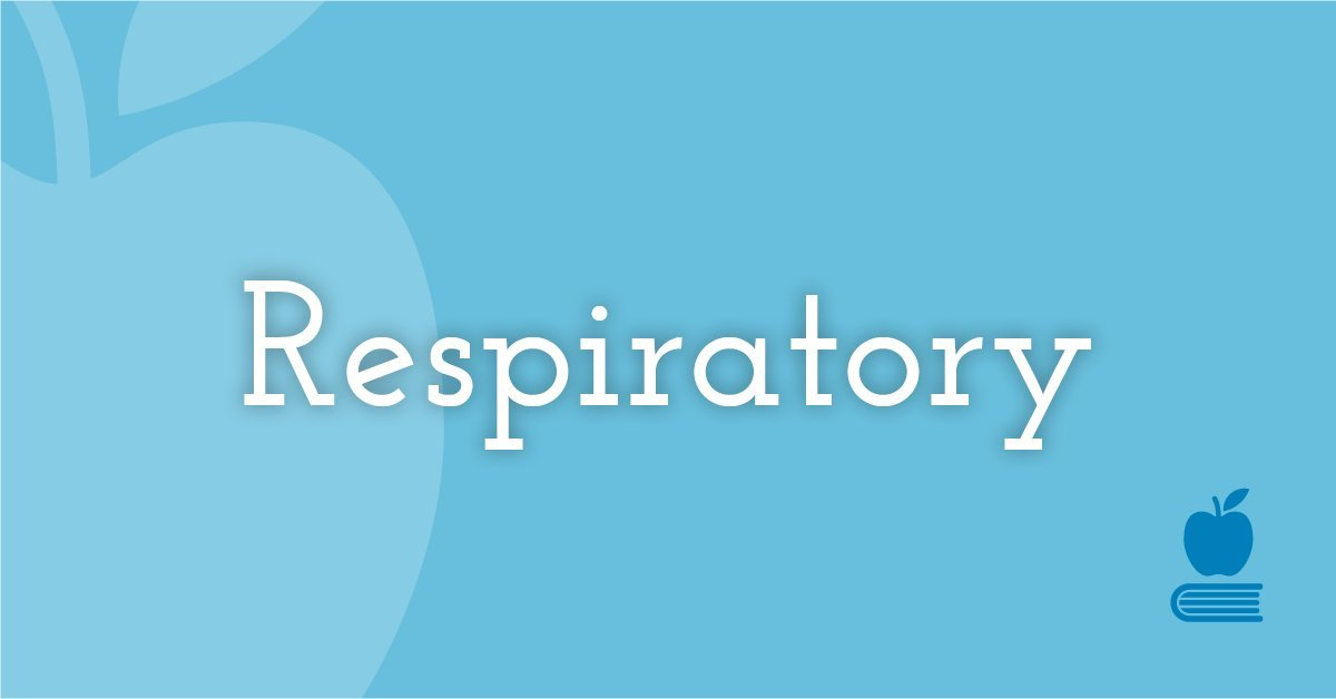 1. Respiratory