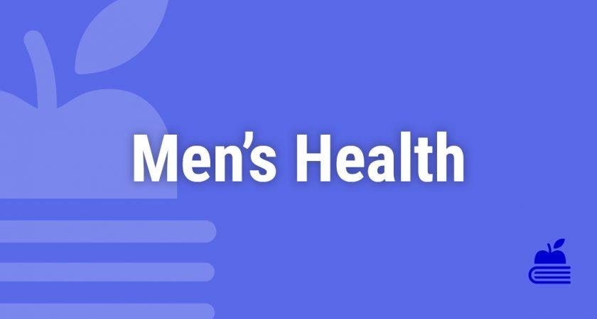 8. Men's Health