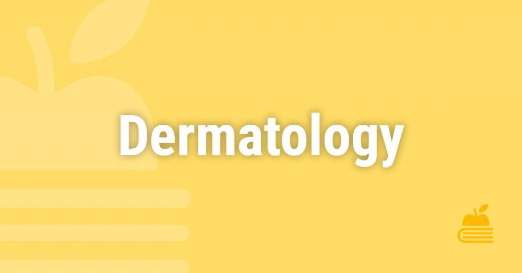 12. Dermatology