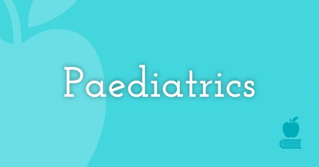 14. Paediatrics