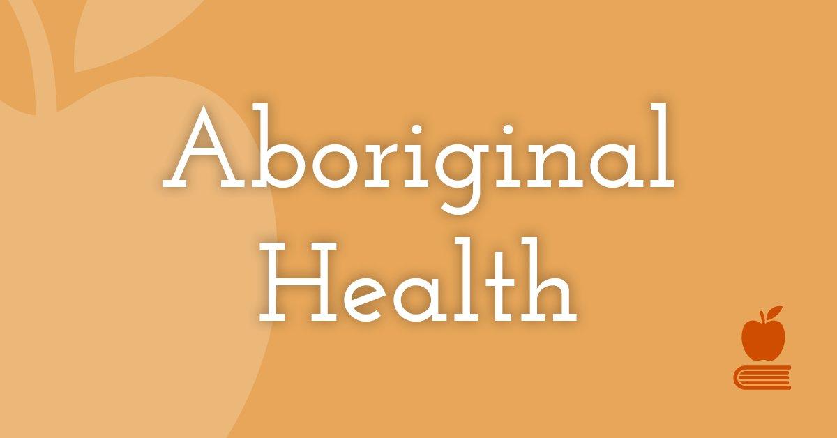 18. Aboriginal Health