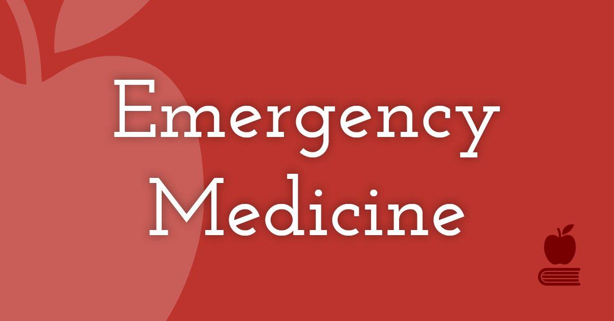 16. Emergency Medicine